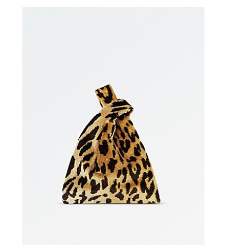 HAYWARD Mini leopard print shopper bag (Leopard