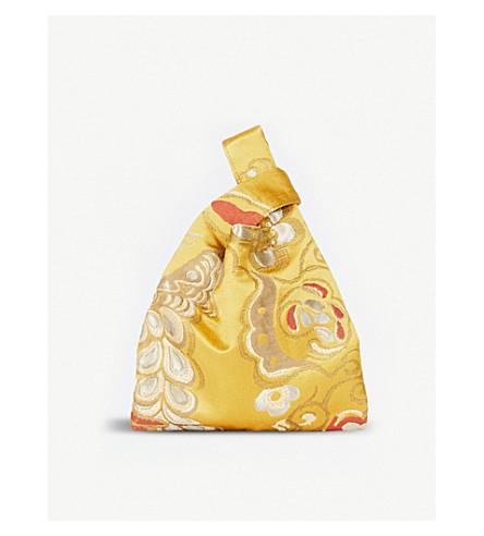 HAYWARD Mini embroidered shopper bag (Gold