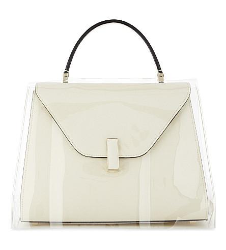 VALEXTRA Iside medium cross-body bag cover (Transparent