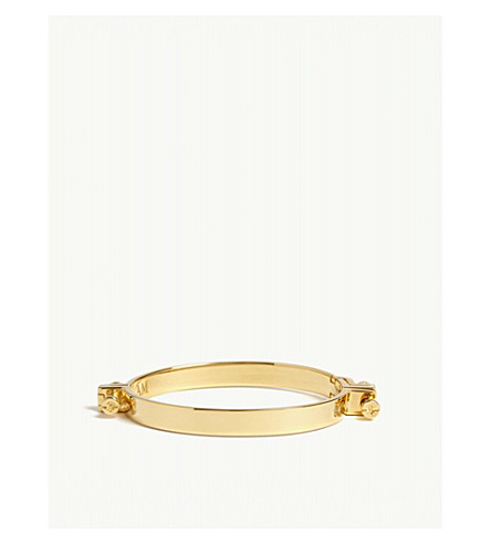ANNELISE MICHELSON Alpha bracelet (Gold