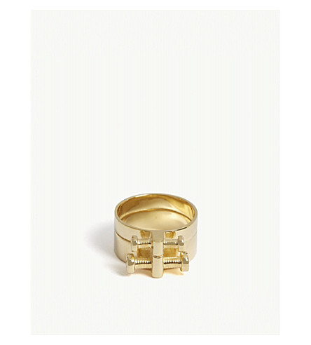 ANNELISE MICHELSON Alpha ring