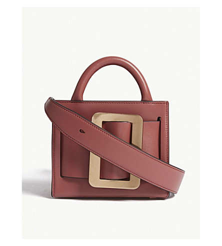 BOYY Bobby small leather shoulder bag (Indian red