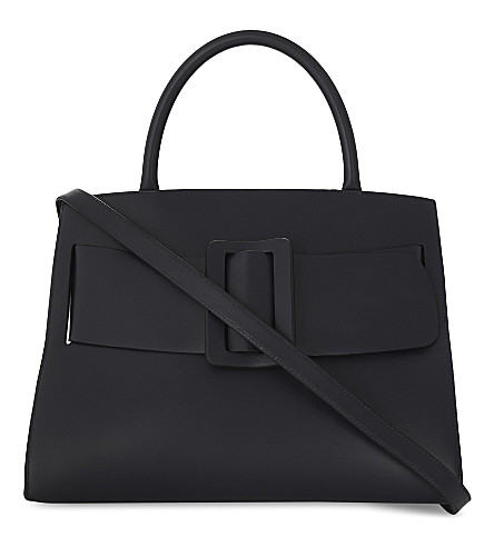 BOYY Bobby leather tote bag (Black