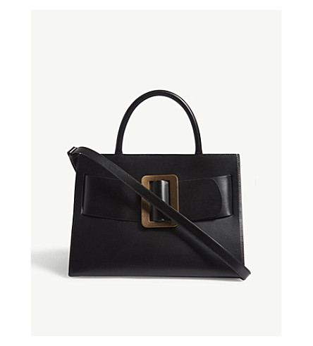 BOYY Bobby large leather tote bag (Black