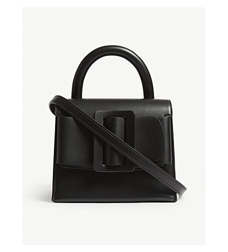 BOYY Lucas calfskin leather handbag (Black