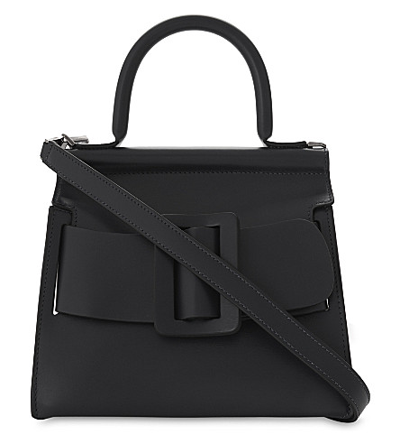 BOYY Karl leather shoulder bag (Black