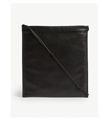 THE ROW Medecine leather cross-body body bag (Black