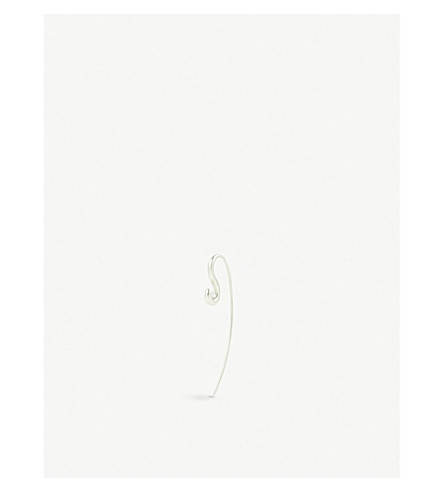 CHARLOTTE CHESNAIS Hook small silver earring (Silver