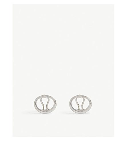 CHARLOTTE CHESNAIS Naho earrings (Yellow+vermeil