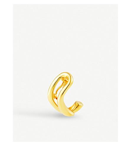 CHARLOTTE CHESNAIS Dali gold single clip-on earring (Gold