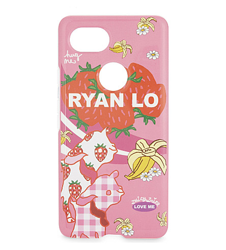 GOOGLE Ryan LO Pixel 2 XL phone case (Pink