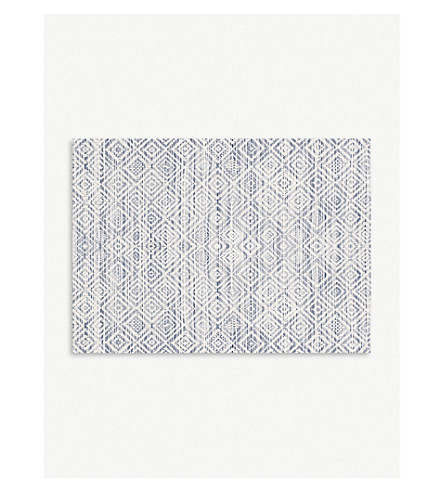 CHILEWICH Mosaic woven placemat 36 x 48 cm