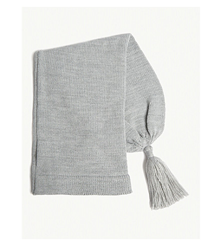 COMME DES GARCONS SHIRT Fully fashioned knitted hat (Grey