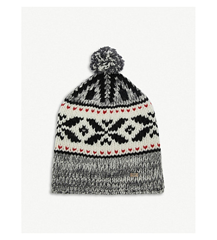 SAINT LAURENT Mountain wool beanie (Grey 54db92f154c
