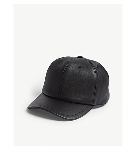 ... GIVENCHY Address logo leather cap (Black. PreviousNext 5403c5be79c