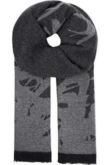 MCQ ALEXANDER MCQUEEN Swallow scarf