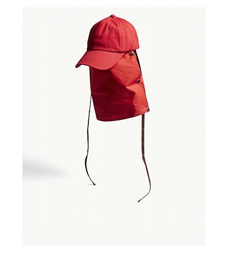 RAF SIMONS Attachment baseball cap