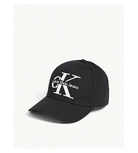 CALVIN KLEIN -  CK  logo cotton cap  73d9732d004