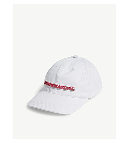 OFF-WHITE C/O VIRGIL ABLOH 温度棒球帽 (白 + 多