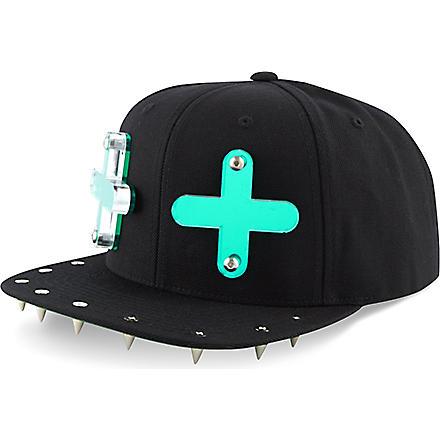ADEEN Cross snapback cap (Black