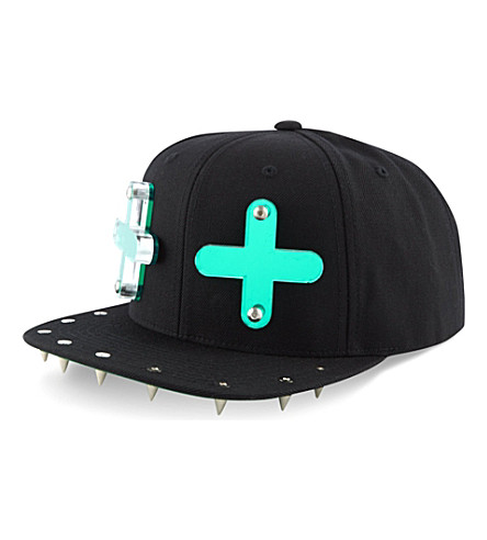 ADEEN Cross snapback cap (Black