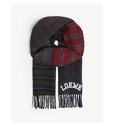 LOEWE Varsity scarf