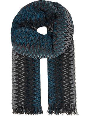 MISSONI Zig zag scarf