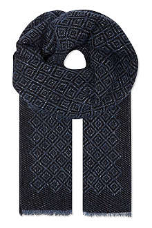 MISSONI Cashmere diamond scarf