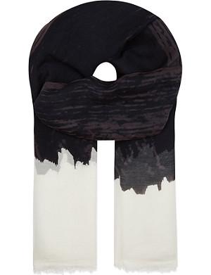 DESTIN Brushstroke scarf