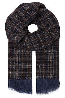 DESTIN Archive tweed scarf