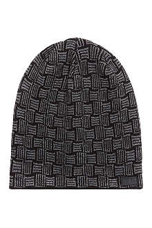 WRKNG TITLE The monogram beanie