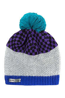 WRKNG TITLE The checker luxe beanie