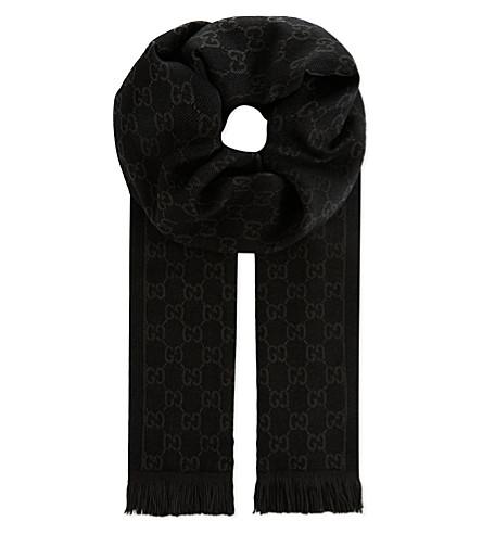 GUCCI Arliss classic scarf (Black