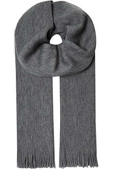 HUGO BOSS Alba wool scarf