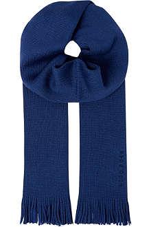 HUGO BOSS Alba wool scarf