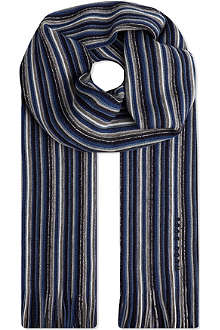 HUGO BOSS Stripe scarf