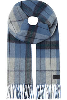 HUGO BOSS Checked scarf