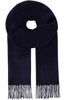 HUGO BOSS Pure cashmere scarf