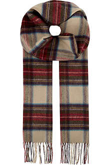 JOHNSTONS Cashmere woven scarf