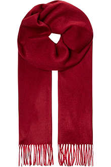 JOHNSTONS Woven cashmere scarf
