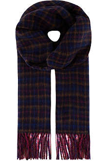 JOHNSTONS Cashmere check scarf