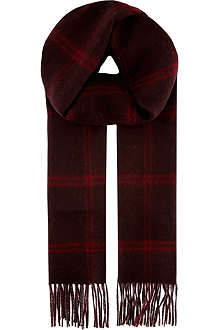 JOHNSTONS Cashmere double-sided scarf