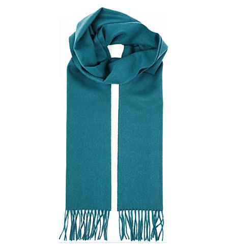 JOHNSTONS Cashmere scarf (Jade