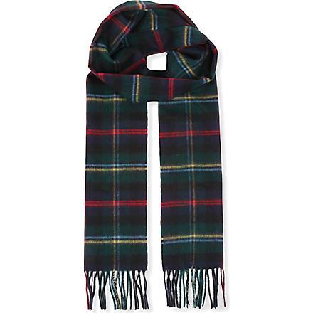 JOHNSTONS Cashmere plain scarf (Malcolm