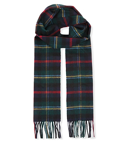 JOHNSTONS Cashmere scarf (Malcolm