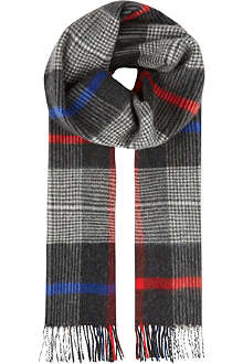 JOHNSTONS Cashmere checked scarf