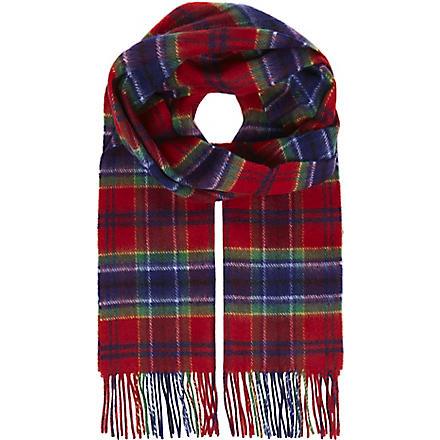 JOHNSTONS Lamora tartan scarf (Maccreary