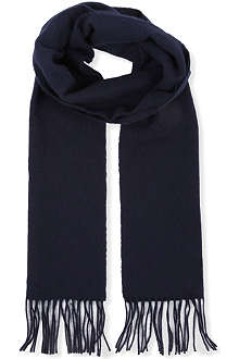 JOHNSTONS Plain lambswool scarf