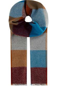 JOHNSTONS Extra-fine merino wool scarf