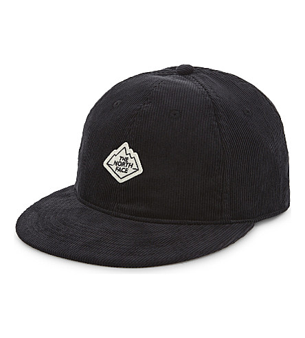 THE NORTH FACE Urban Exploration corduroy snapback cap (Tnf+black